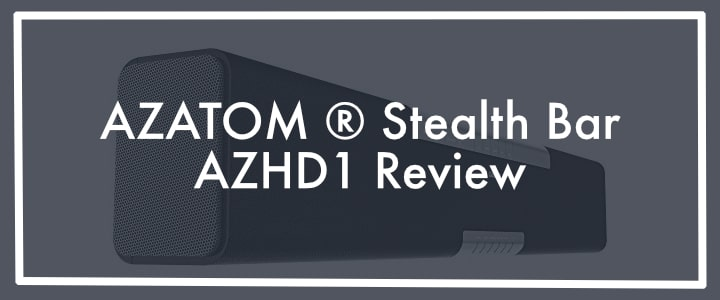 AZATOM ® Studio Soundbar 2.1 Review