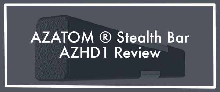 AZATOM ® Studio Soundbar 2.1 Review