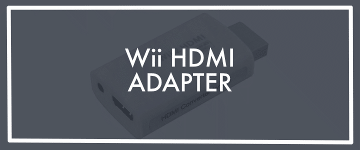 HDMI Adapter for Your Wii with HDMI to 3.5 converter