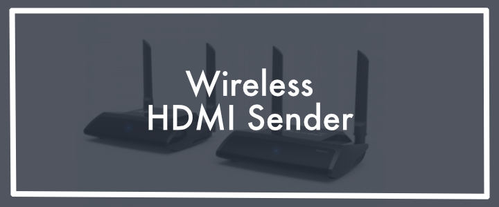 Wireless HDMi Sender Transmitter