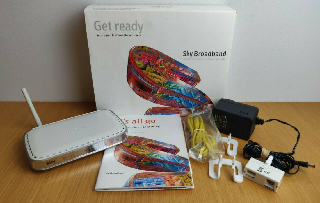 Old Sky Router