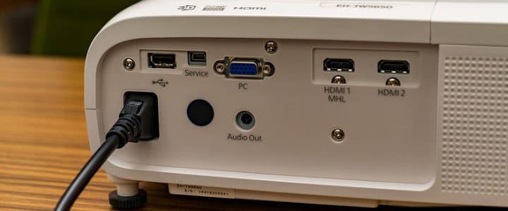 Projector Connectors