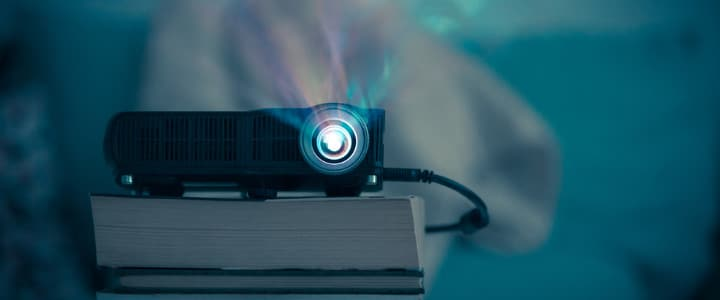 Projector at home