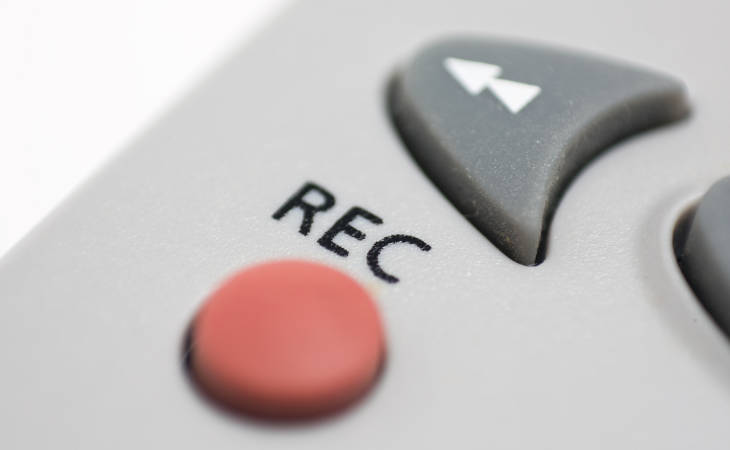 TV Recording Button On Remote
