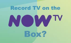 Record on the Now TV box?