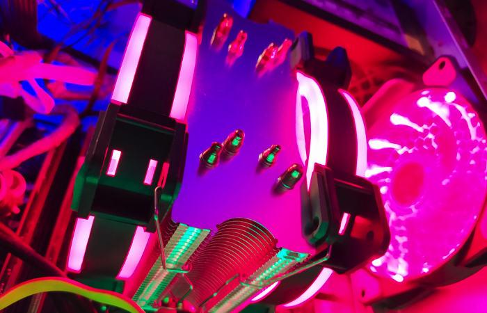 Cooling CPU