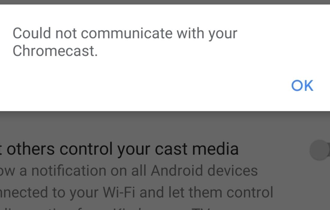 Chromecast alert