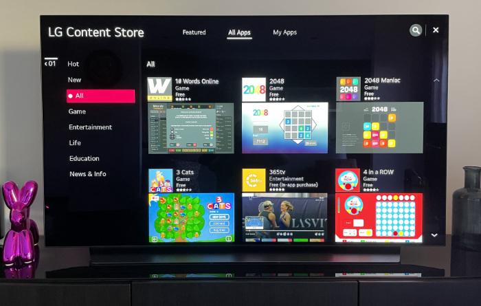 App Store LG TV