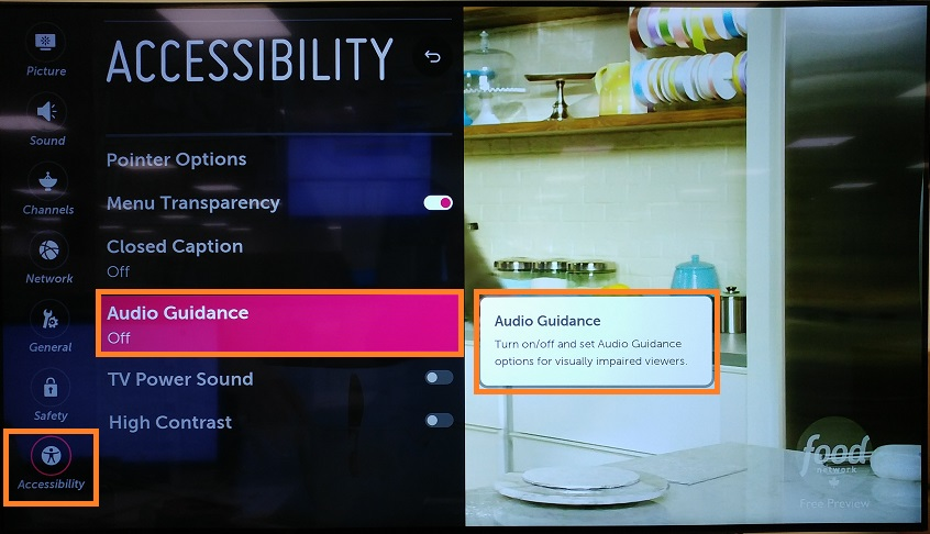 LG's Accessibility Features