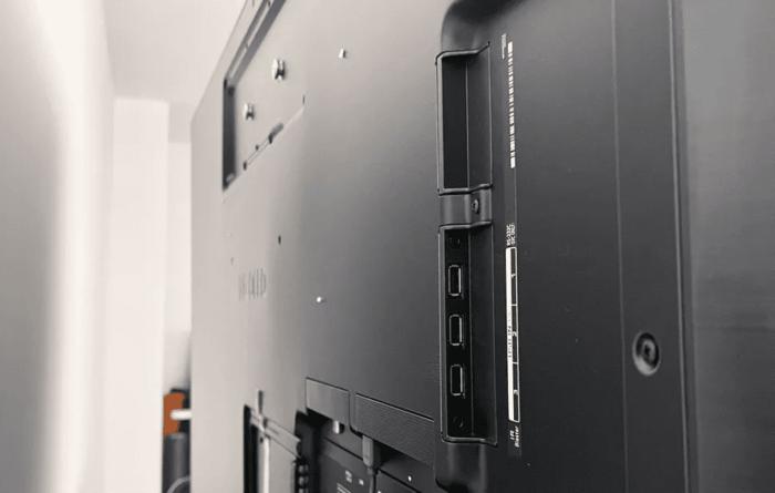 LG G1 Gallery OLED TV ports