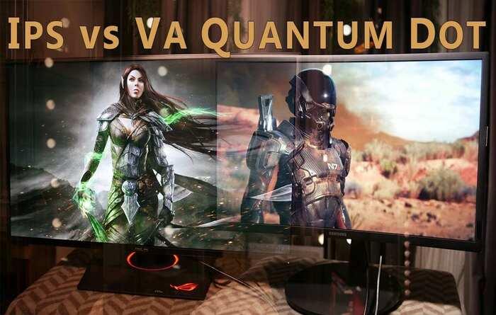 Quantum Dot Vs IPS