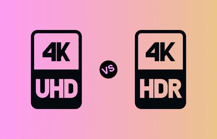 4K vs HDR