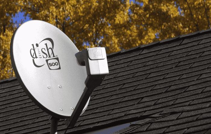 Dish satellite